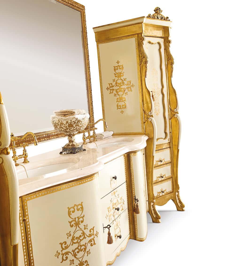 Luxury Night Toilet Furniture Handmade Italian Luxury Furniture