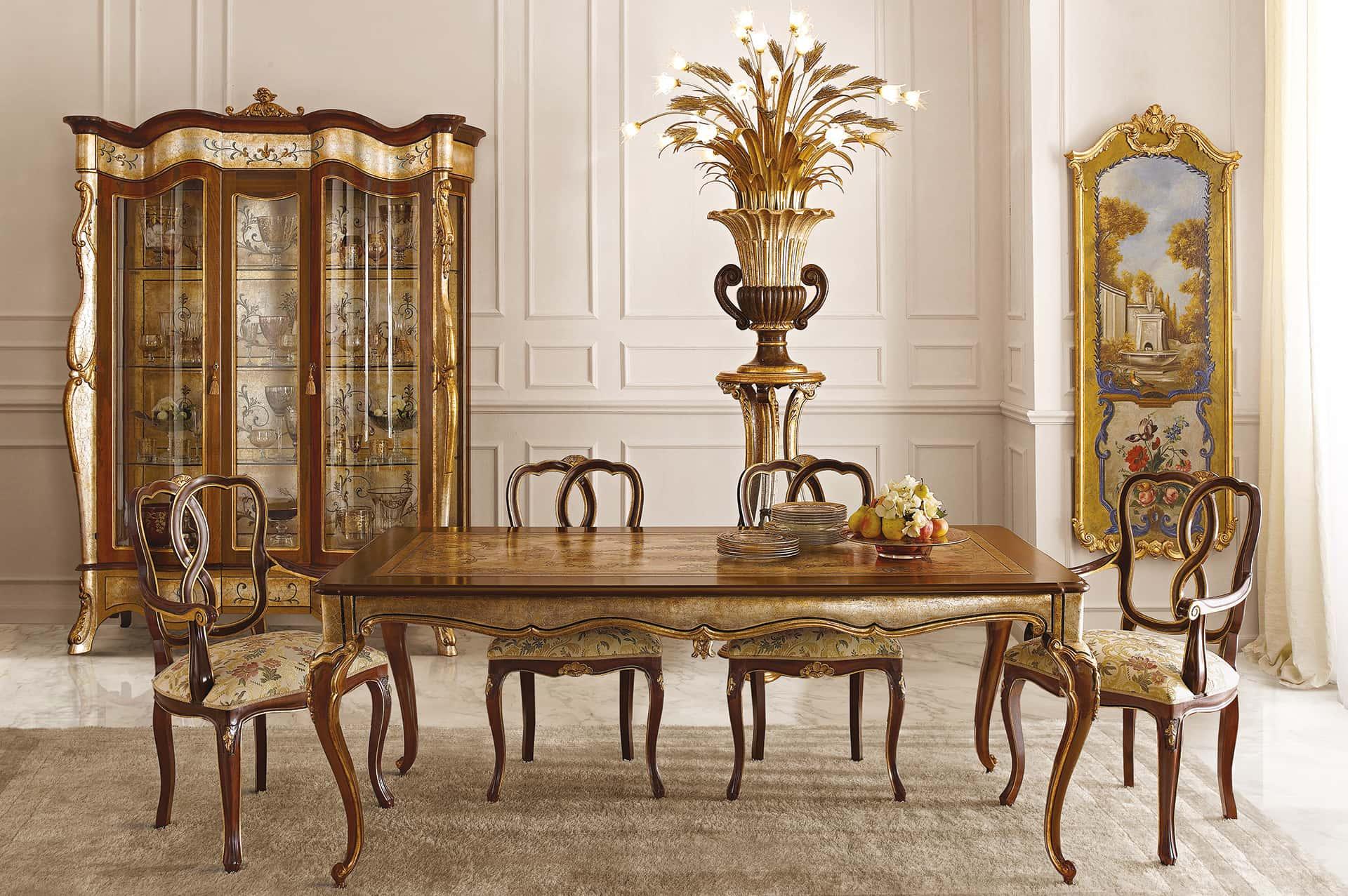 Italian Dining Room Tables Handmade Italian Luxury Furniture
