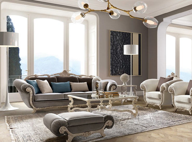 The Best Luxury Italian Furnitures. On our Web Site You can Find Exclusive Italian Furnitures. Handmade Italian Living Room Collections