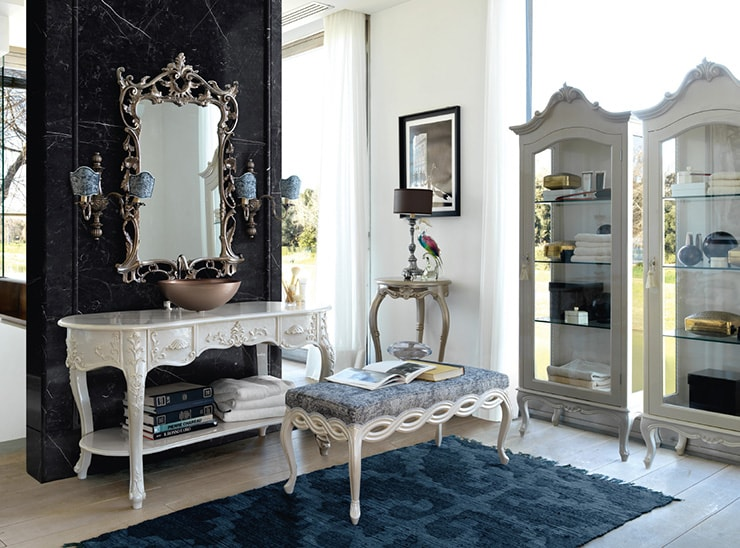 Have a Look at the Best Italian Luxury Bathroom Furnitures. Choose the Italian Style for Your Home with the Best Handmade Bahroom Furnitures