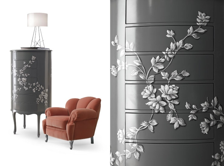 Do you Dream Luxury Bedroom Furniture for your Home? Find the Exclusive Italian Night Composition Furniture and buy your Night Homemade Furniture.