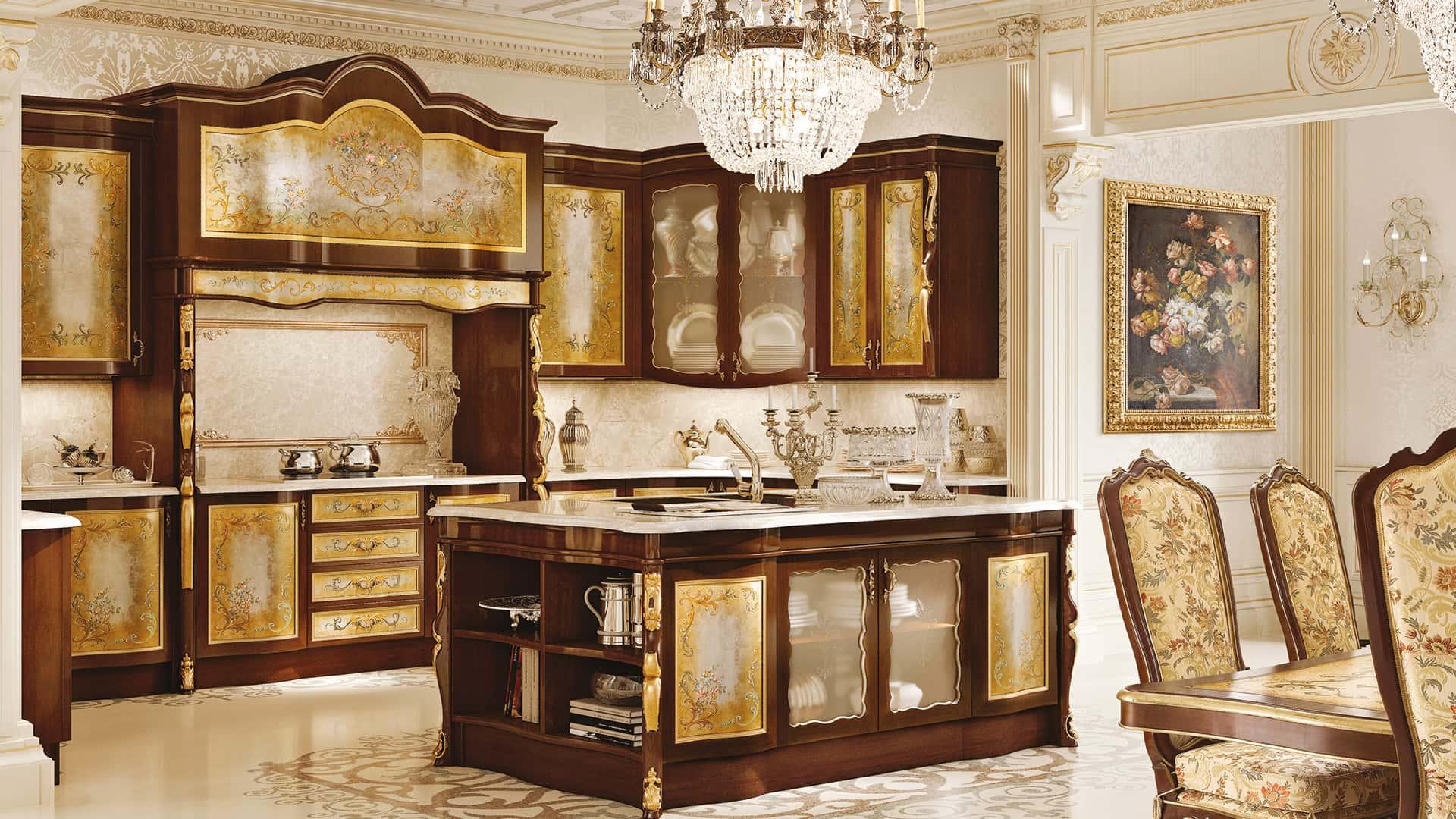 Classic Kitchen Furniture Handmade Italian Luxury Furniture